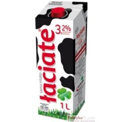 Mleko ŁACIATE UHT 3.2% 1L EXP0321