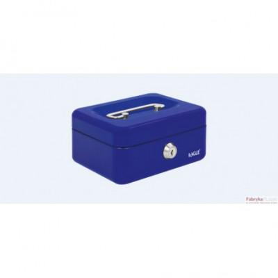 Kasetka na pieniądze EAGLE 8878 XS niebieska