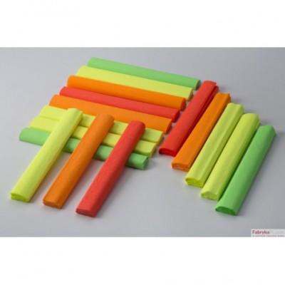 Bibuła marszczona 25x200cm - fluo, pomarańczowy, 5 rolek HA 3640 2520-204 Happy Color
