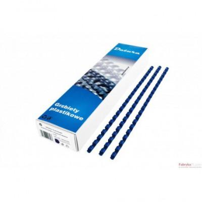 Grzbiet do bindowania DATURA 6mm (100) niebieski