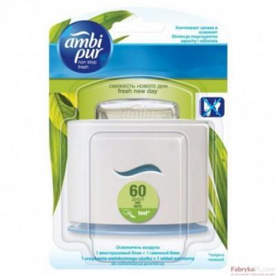 Odświeżacz powietrza starter Ambi Pur Ellipse Fresh New Day urządzenie + Wkład 1szt