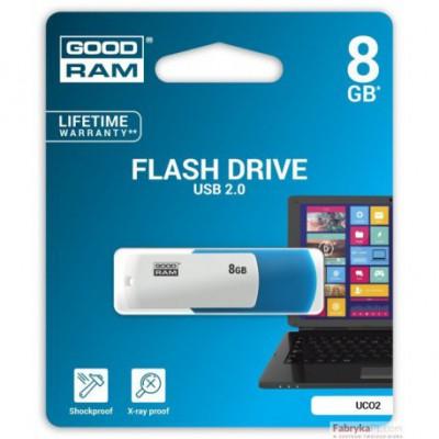 Pamięć USB GOODRAM 8GB UCO2 USB 20 miks kolorów