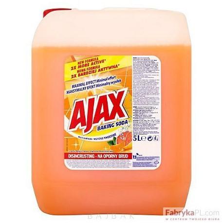 Płyn uniwesalny AJAX FF pomarańczowo-cytrynowe 5L