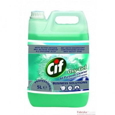 Płyn CIF BS OXY-GEL OCEAN 5l Skoncentrowany preparat do mycia podłóg
