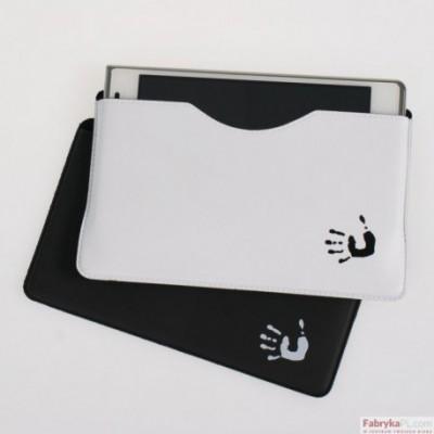 Etui na telefon BIURFOL 90x145mm biało-czarny kolekcja SECRET