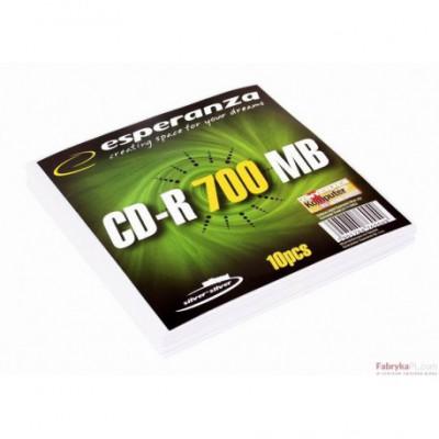 CD-R ESPERANZA Silver - Koperta 1szt