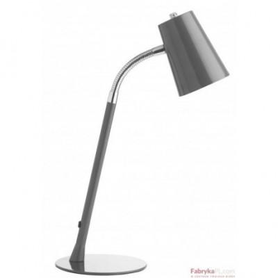 Lampa biurkowa UNILUX FLEXIO 20 LED metaliczna SZARY