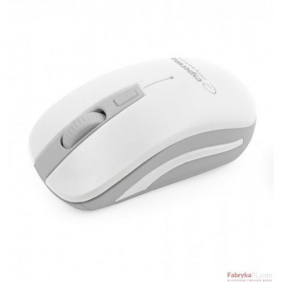 Mysz bezprzewodowa 24GHz URANUS białoszara ESPERANZA
