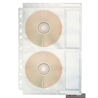 Koszulki na płyty CD ESSELTE DATALINE, przezroczysty