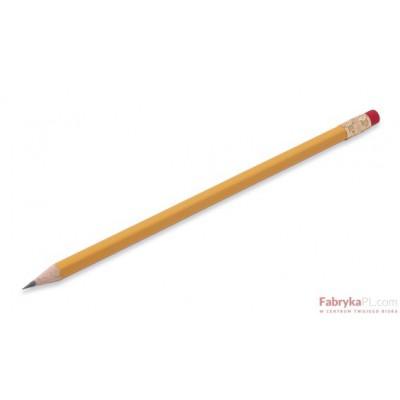 Ołówek żółty z gumką BEIFA