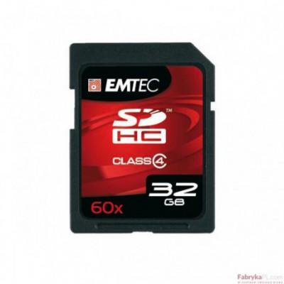 Karta pamięci EMTEC SDHC 32GB High Speed HC 60x (Class 4)