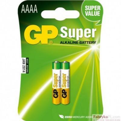 Bateria alkaliczna GP Super AAAA / LR8D425 1.5V GPPCA025A015