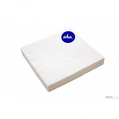 Serwetki AHA białe 20 sztuk