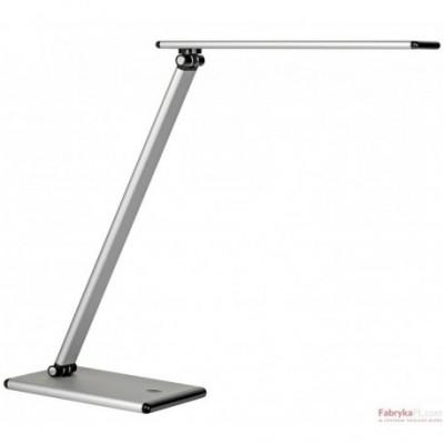 Lampa biurkowa UNILUX TERRA LED. SREBRNA