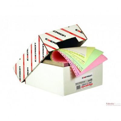 """Papier składanka samokopiujący EMERSON z nadrukiem 240x12""""x2 900str"""
