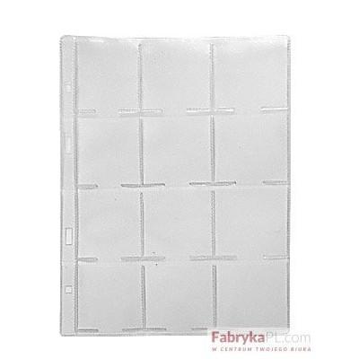 Karta foliowa WARTA 185x232 na holdery, 12 kieszonek