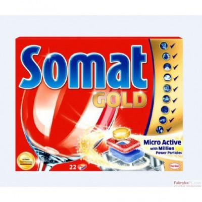 Tabletki SOMAT 24szt GOLD do zmywarki