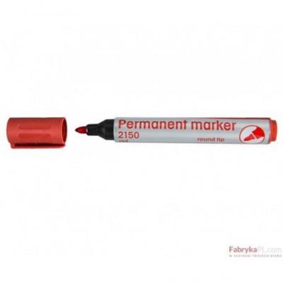 Marker permanentny 2150 czerwony 110166