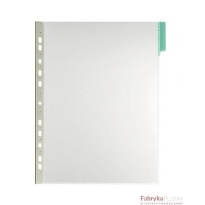 Panel informacyjny A4 PVC zielony Durable
