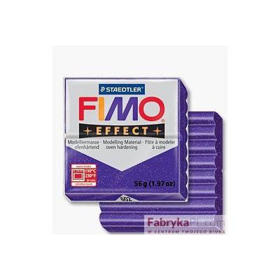 FIMO effect, masa termoutwardzalna 56g, różowy kryształowy