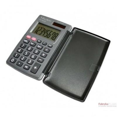 Kalkulator VECTOR CH862 kieszonkowy 8 poz.