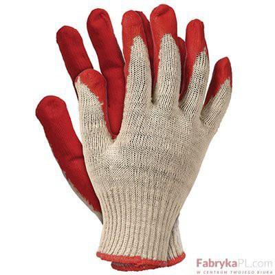 Rękawice Ochronne RU czerwone Rozmiar 9 Reis