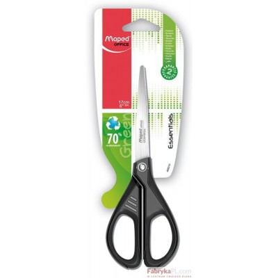 Nożyczki Greenlogic 17 cm Symetryczne Blister (w pudełku)