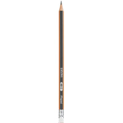 Ołówek z gumką Blackpeps HB Maped