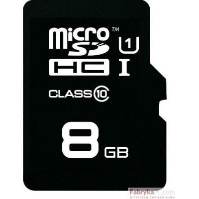 Karta pamięci EMTEC MicroSDHC z adapterem SD 8GB Class10 TelCo