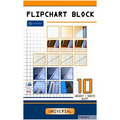 Blok do FLIPCHARTÓW 10k.gładki 100x64 INTERDRUK