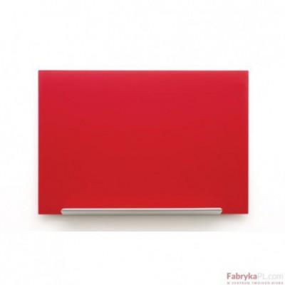 Tablica szklana Nobo Diamond czerwona 1883x1053 mm 1905186