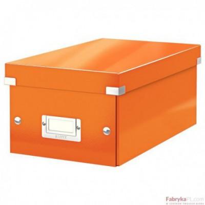 Pudło na DVD Leitz C&S WOW, pomarańczowy