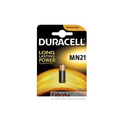 Bateria alkaliczna MN21 B1 DURACELL kluczyki,alarmy,piloty