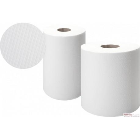 Ręcznik w roli Ellis Comfort 120m/2, celuloza, biały