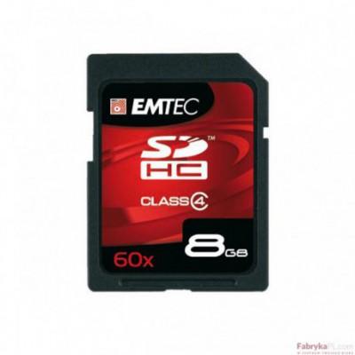 Karta pamięci EMTEC SDHC 8GB High Speed HC 60x (Class 4)