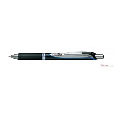 Pióro kulkowe BLP77-BP1CPL niebieskie Enegel automatyczny na wkł.wymien.0,7mm PENTEL