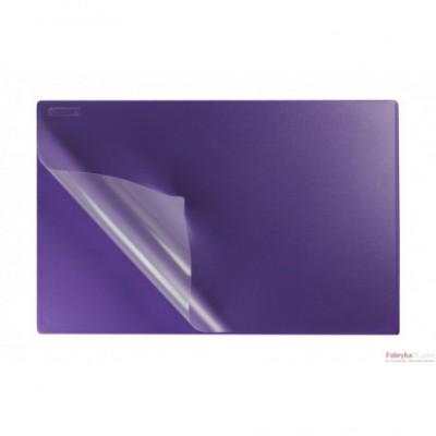 Podkład na biurko z folią 38x58 violet BIURFOL