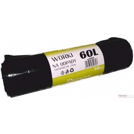 Worek na śmieci DATURA 60L ekonomiczny (50)