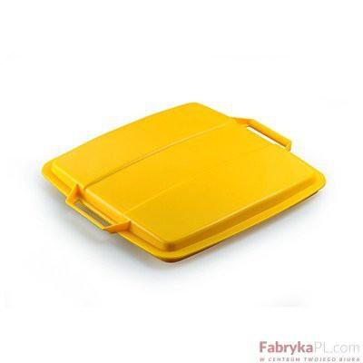DURABLE DURABIN LID 90 pokrywa do pojemnika 90 l, żółta