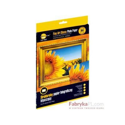 """Papier foto Yellow One A4 200g A20 błysz. """"czerpany"""" (4PFAG200)"""