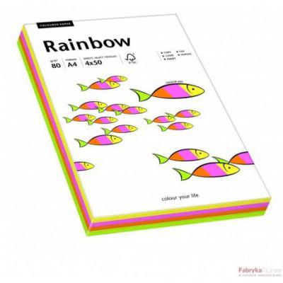 Papier xero kolorowy Rainbow mix pastelowy