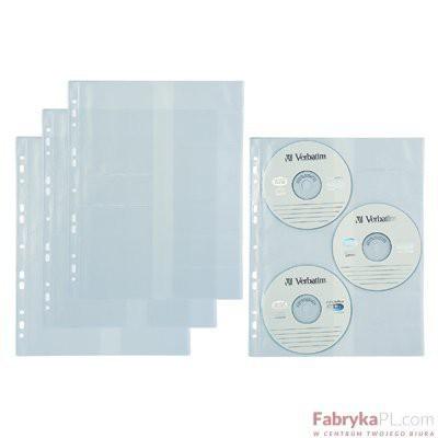 Koszulka A4 na 3 CD-R BIURFOL