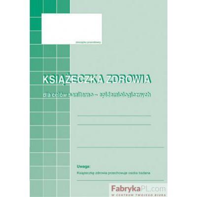 Książeczka zdrowa MICHALCZYK I PROKOP A6 16 stron