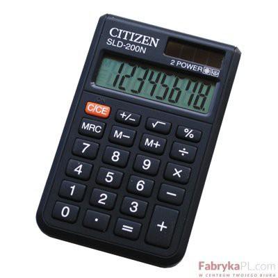 Kalkulator CITIZEN SLD 200N Kieszonkowy