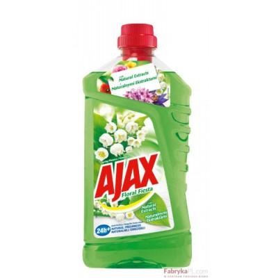 Płyn Floral Fiesta AJAX 1L Flo wers of Spring ( zielony )