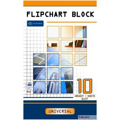 Blok do FLIPCHARTÓW 10k.kratka 100x64 INTERDRUK