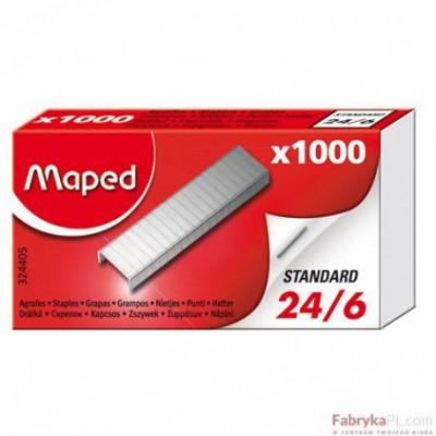 Zszywki Maped 24/6 1000 Szt Pudełko