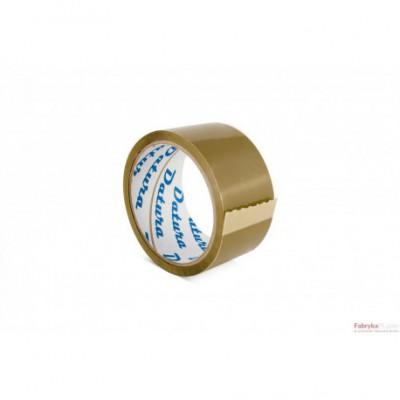Taśma pakowa DATURA 48x50y kauczukowa brązowa