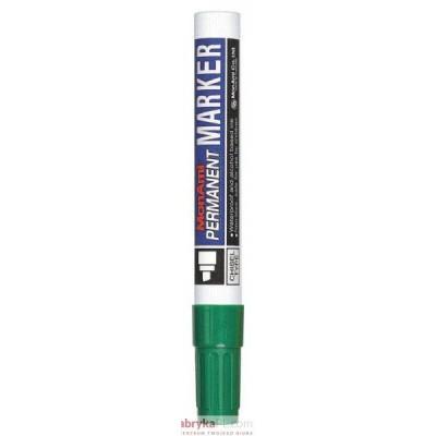 Marker MONAMI PERMANENT ścięta końcówka C zielony (aluminiowa obudowa)