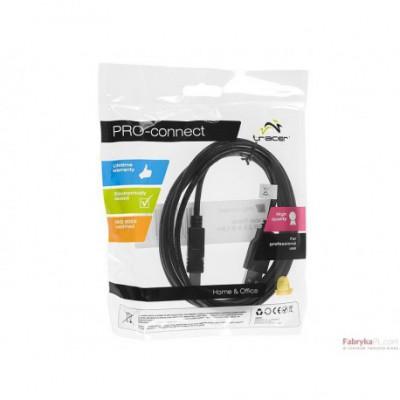 Kabel TRACER USB 2.0 A-B 3,0m TRAKBK41333